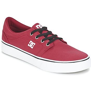 Schoenen Heren Lage sneakers DC Shoes TRASE TX MEN Rood / Zwart