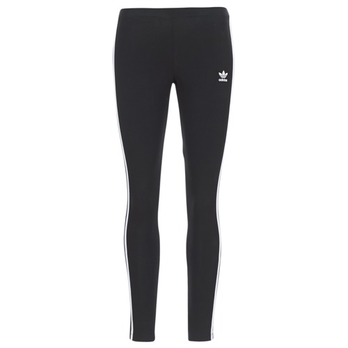 Textiel Dames Leggings adidas Originals 3 STR TIGHT Zwart