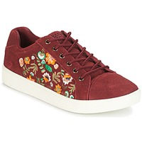 Schoenen Dames Lage sneakers Banana Moon RACLO Bordeau