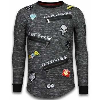 Textiel Heren Sweaters / Sweatshirts Local Fanatic Longfit Embroidery - Sweater Patches - Elite Crew 38