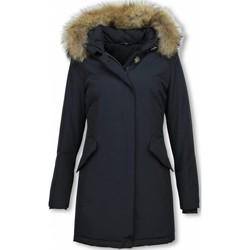 Textiel Dames Parka jassen Thebrand Winterjassen - Dames Winterjas Wooly Lang - Bontkraag - Parka 19