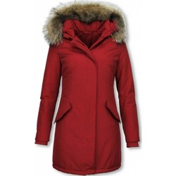 Textiel Dames Parka jassen Thebrand Winterjassen - Dames Winterjas Wooly Lang - Bontkraag - Parka 8