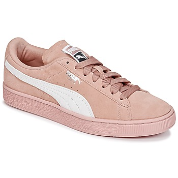 Schoenen Dames Lage sneakers Puma SUEDE CLASSIC W'S Roze / Wit