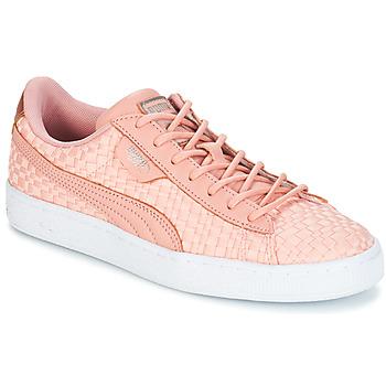 Schoenen Dames Lage sneakers Puma BASKET SATIN EP WN'S  perzik