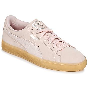 Schoenen Dames Lage sneakers Puma SUEDE CLASSIC BUBBLE W'S Roze