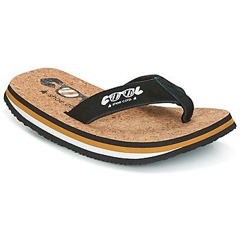 Schoenen Heren Teenslippers Cool shoe ORIGINAL Zwart / Camel