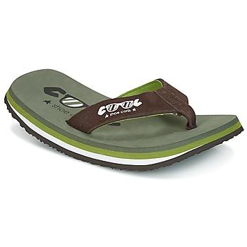 Schoenen Heren Teenslippers Cool shoe ORIGINAL Kaki / Bruin
