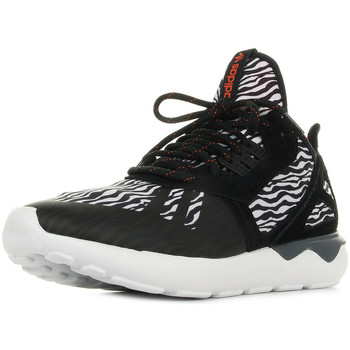 Schoenen Heren Lage sneakers adidas Originals Tubular Runner Zwart