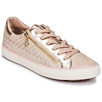 Schoenen Dames Lage sneakers S.Oliver BOOMBO Roze / Goud