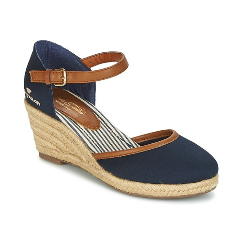 Schoenen Dames Sandalen / Open schoenen Tom Tailor ESKIM Marine