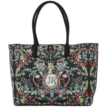 Tassen Dames Tote tassen / Boodschappentassen Richmond CREST LARGE SHOPPING BAG Nero
