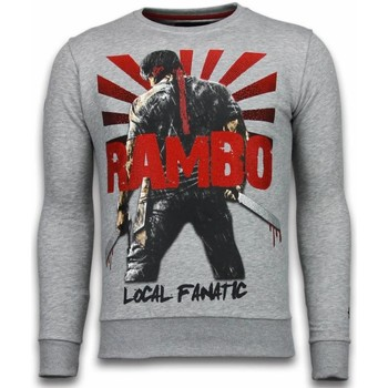 Textiel Heren Sweaters / Sweatshirts Local Fanatic Rambo - Rhinestone Sweater 35