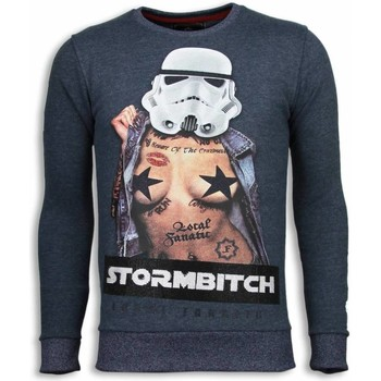 Textiel Heren Sweaters / Sweatshirts Local Fanatic Stormbitch - Rhinestone Sweater 19