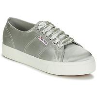 Schoenen Dames Lage sneakers Superga 2730 SATIN W Grijs