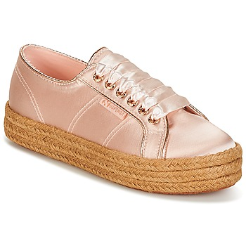 Schoenen Dames Lage sneakers Superga 2730 SATIN COTMETROPE W Roze