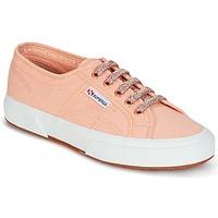 Schoenen Dames Lage sneakers Superga 2750 CLASSIC SUPER GIRL EXCLUSIVE  perzik