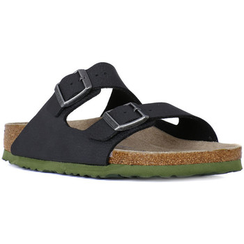 Schoenen Heren Leren slippers Birkenstock ARIZONA SFB SOLL BLACK     97,0