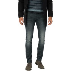 Textiel Heren Skinny jeans Cast Iron Riser slim black blue used Denim