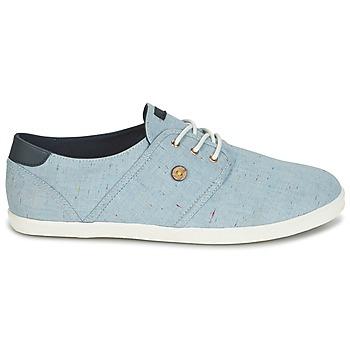 Faguo Sneakers Cotton Cypress Blauw Lage Goedkoop Schoenen TKclF13J