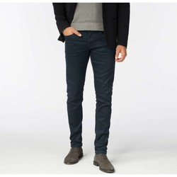 Textiel Heren Skinny jeans Cast Iron Cope tapered deep blue coated Blauw