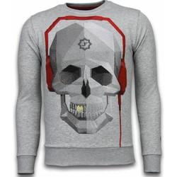 Textiel Heren Sweaters / Sweatshirts Local Fanatic Skull Beat - Rhinestone Sweater 35