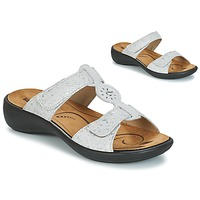 Schoenen Dames Leren slippers Romika IBIZA 82 Grijs