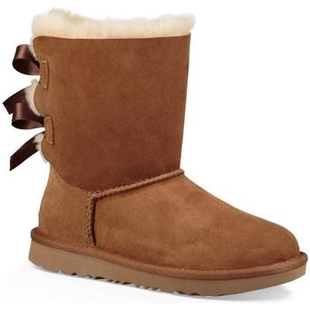 Schoenen Meisjes Snowboots UGG K BAILEY BOW II Marrón