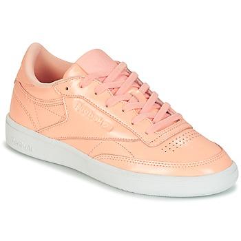 Schoenen Dames Lage sneakers Reebok Classic CLUB C 85 PATENT Roze