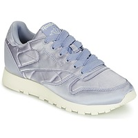 Schoenen Dames Lage sneakers Reebok Classic CLASSIC LEATHER SATIN Violet