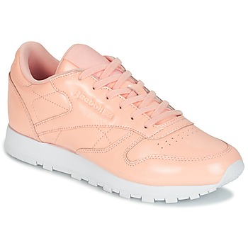Schoenen Dames Lage sneakers Reebok Classic CLASSIC LEATHER PATENT Roze