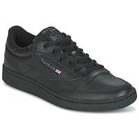 Schoenen Lage sneakers Reebok Classic CLUB C 85 Zwart