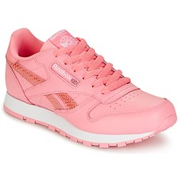Schoenen Meisjes Lage sneakers Reebok Classic CLASSIC LEATHER SPRING Roze