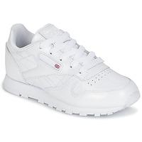 Schoenen Meisjes Lage sneakers Reebok Classic CLASSIC LEATHER PATENT Wit