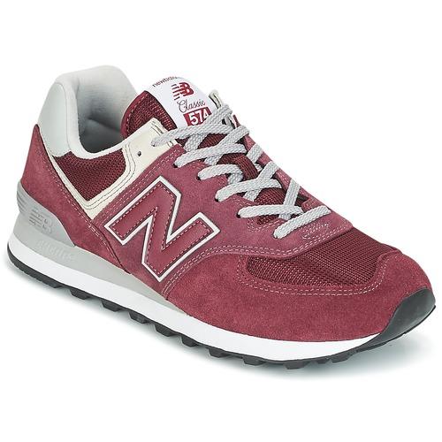 Schoenen Lage sneakers New Balance ML574 Bordeau