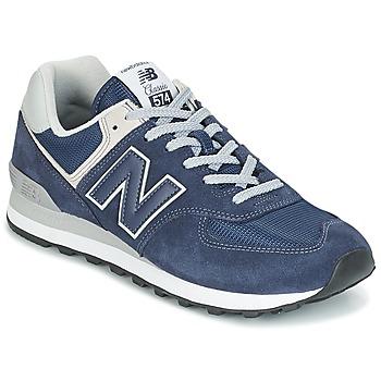 Schoenen Lage sneakers New Balance ML574 Blauw