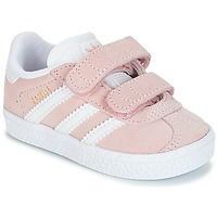 Schoenen Meisjes Lage sneakers adidas Originals GAZELLE CF I Roze