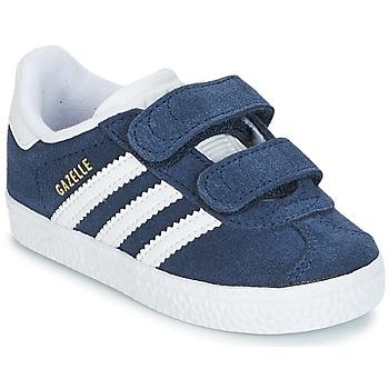 Schoenen Kinderen Lage sneakers adidas Originals GAZELLE CF I Marine