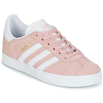 eaa33a52405 Schoenen Meisjes Lage sneakers adidas Originals GAZELLE C Roze