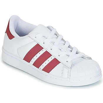 Schoenen Meisjes Lage sneakers adidas Originals STAN SMITH C Wit