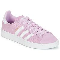 Schoenen Meisjes Lage sneakers adidas Originals CAMPUS J Roze