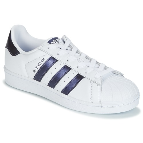 adidas originals superstar dames blauw