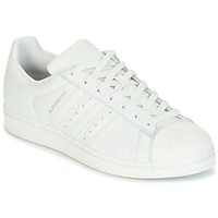 Schoenen Dames Lage sneakers adidas Originals SUPERSTAR Wit / Cristal