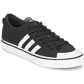 Schoenen Lage sneakers adidas Originals NIZZA Zwart