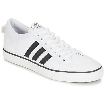 Schoenen Lage sneakers adidas Originals NIZZA Wit