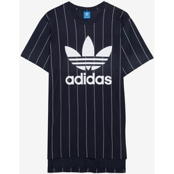 Textiel Heren T-shirts korte mouwen adidas Originals TKO PS TEE Dark blue Bleu