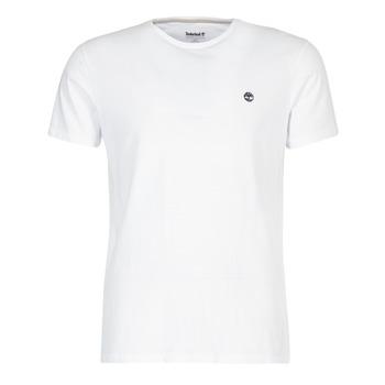 Textiel Heren T-shirts korte mouwen Timberland SS DUNSTAN RIVER CREW TEE Wit