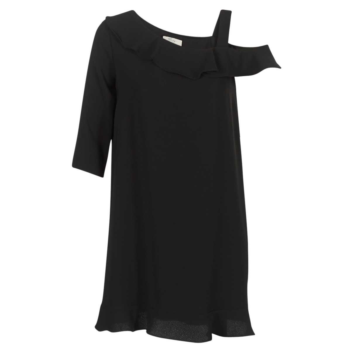 Betty London korte jurk initte zwart