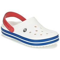 Schoenen Klompen Crocs CROCBAND Wit / Blauw / Rood