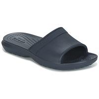 Schoenen Kinderen slippers Crocs CLASSIC SLIDE K Marine