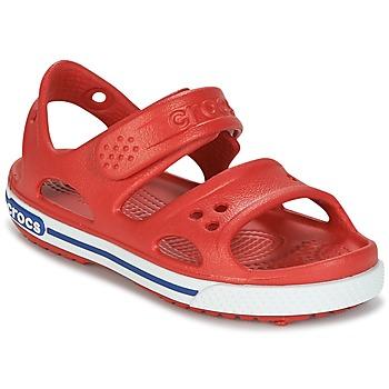 Schoenen Jongens Sandalen / Open schoenen Crocs CROCBAND II SANDAL PS Rood